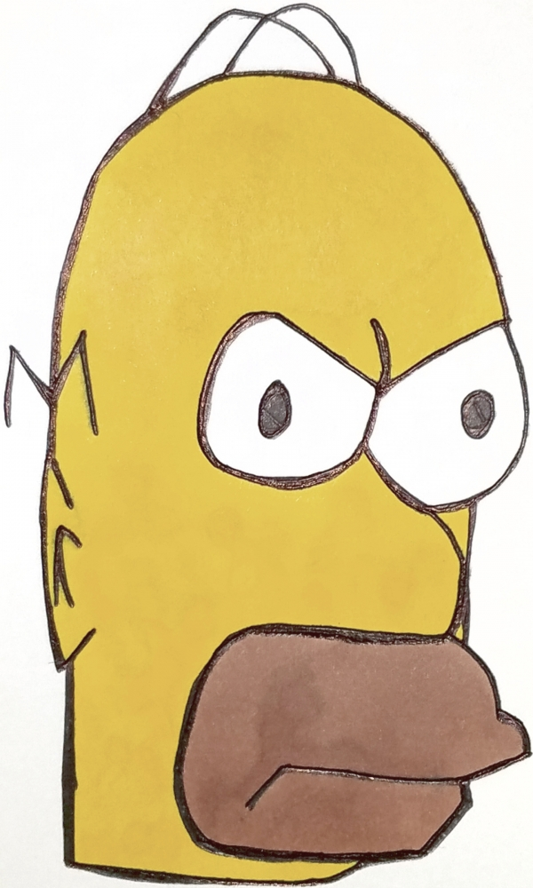 The Simpsons by armattock